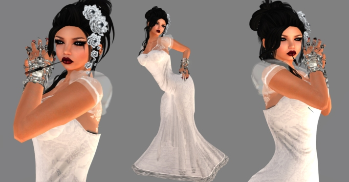 white lola dress