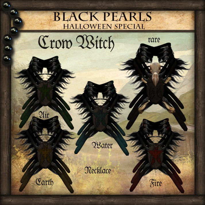 [BlackPearls] - Crow Witch - Gacha Halloween Special