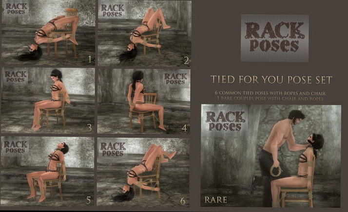 rack gatcha poses