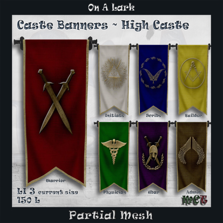 _OAL_ Banners ~ High Caste