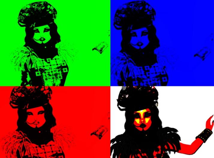 Pop art ro junbug