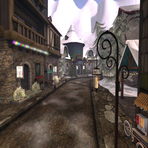 Snapshot _ 25L Holiday Bazaar ~ Village Street