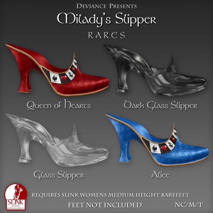 Deviance - Miladys Slipper - Rares