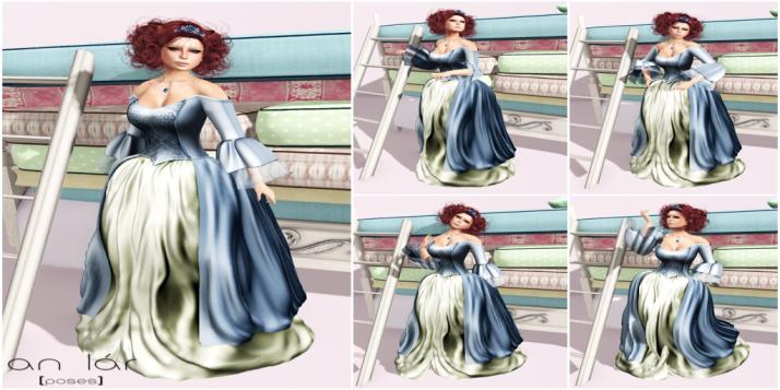 an lar [poses] The Spoiled Princess Series vendor