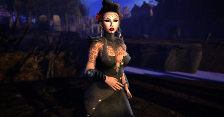 UnDone New Steampunk dress