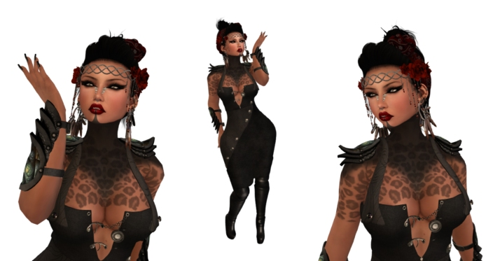 UnDone Steampunk Dress