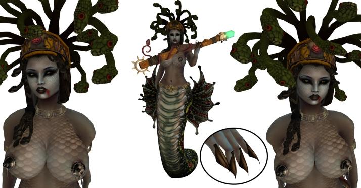 Medusa Char Sheet