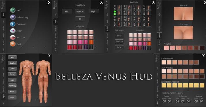 Belleza Venus Hud