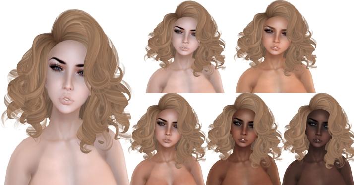 Essences {Ingrid} skin chart