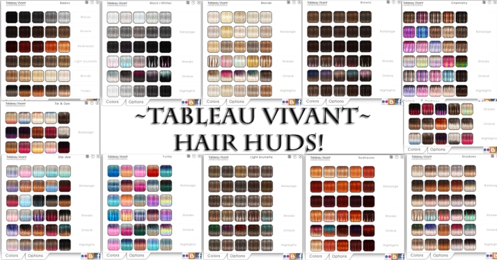 Tableau Vivant Hair Huds