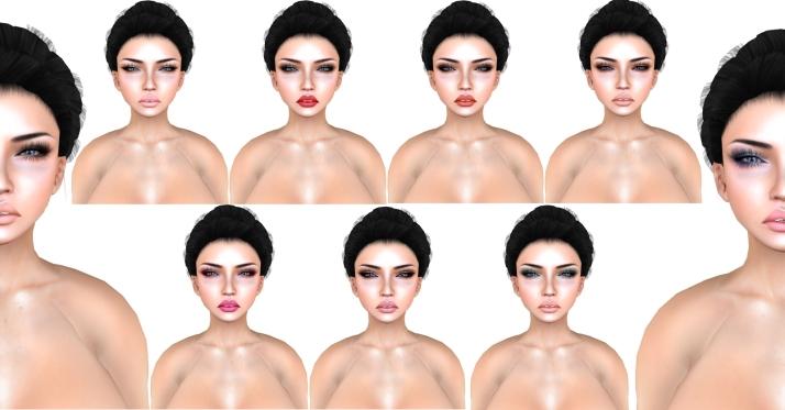 -Belleza- Grace Makeup Chart