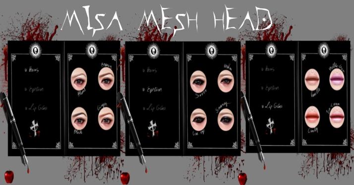 Misa Mesh Head Hud