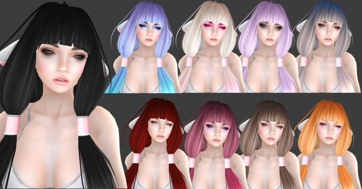 -Glam Affair- & ~Tableau Vivant~ Chii hair
