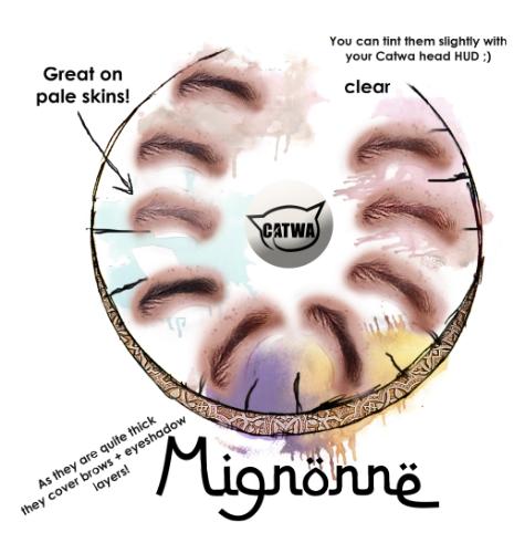 Mignonne Messy Brows